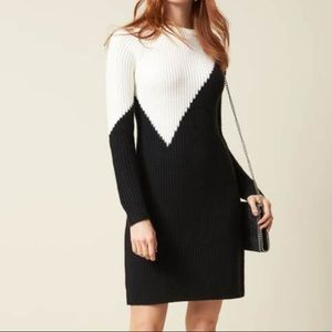 NWT Vince Camuto Colorblock Dress